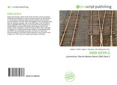 Bookcover of EMD GP39-2