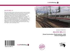 Bookcover of ALCO RS-11