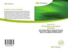 Bookcover of Ernestina Lecuona Casado