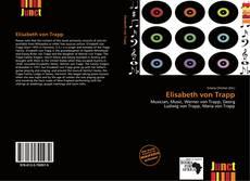 Bookcover of Elisabeth von Trapp