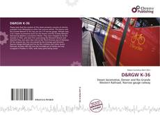 Buchcover von D&RGW K-36
