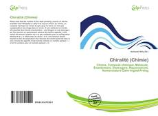 Bookcover of Chiralité (Chimie)