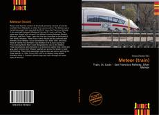 Capa do livro de Meteor (train)