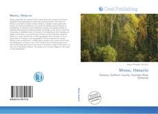 Mono, Ontario kitap kapağı