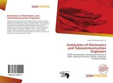 Bookcover of Institution of Electronics and Telecommunication Engineers