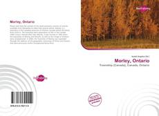 Morley, Ontario kitap kapağı