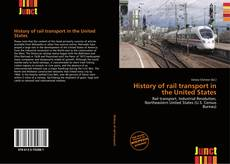 Capa do livro de History of rail transport in the United States