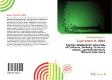 Bookcover of Lawrence H. Aller