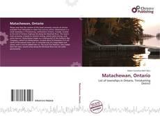 Bookcover of Matachewan, Ontario