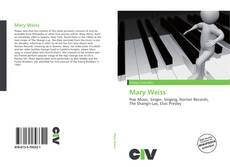 Couverture de Mary Weiss