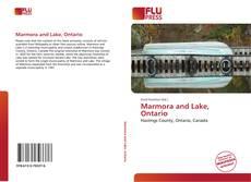 Capa do livro de Marmora and Lake, Ontario
