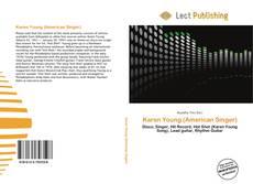 Buchcover von Karen Young (American Singer)