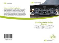 Estuary Halt Railway Station kitap kapağı