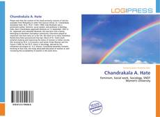 Bookcover of Chandrakala A. Hate