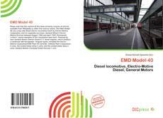 Bookcover of EMD Model 40