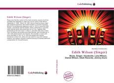Copertina di Edith Wilson (Singer)