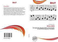 Bookcover of Elise Witt
