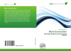 Buchcover von Mark Granovetter