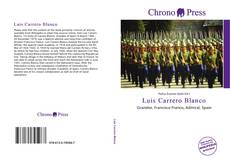 Обложка Luis Carrero Blanco