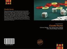 Capa do livro de Claudio Nunes