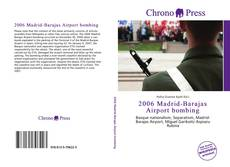 Copertina di 2006 Madrid-Barajas Airport bombing