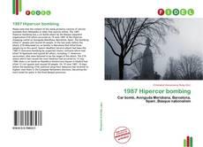 1987 Hipercor bombing的封面