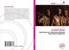 Capa do livro de Arnaldo Otegi