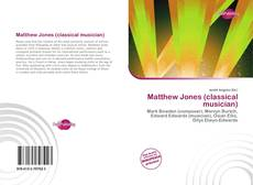 Portada del libro de Matthew Jones (classical musician)