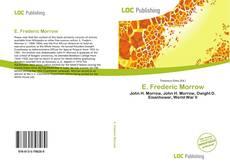 E. Frederic Morrow kitap kapağı