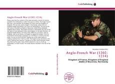 Buchcover von Anglo-French War (1202-1214)