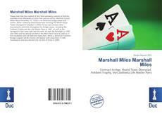 Marshall Miles  Marshall Miles kitap kapağı