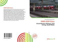 Bookcover of GWR 4200 Class