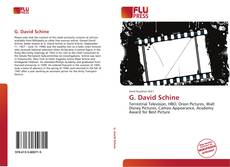 Couverture de G. David Schine