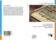 Lucio Battisti kitap kapağı