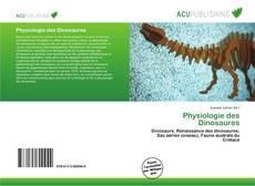 Bookcover of Physiologie des Dinosaures