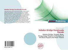Capa do livro de Hebden Bridge Handmade Parade