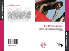 Bookcover of Ford Sigma engine