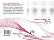 Bookcover of 2000–01 Atalanta B.C. Season