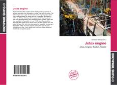 Bookcover of Jetex engine