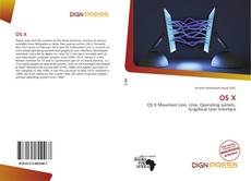 Bookcover of OS X