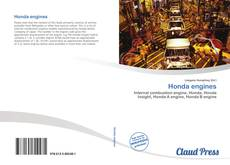 Bookcover of Honda engines