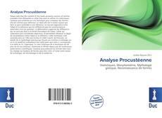 Capa do livro de Analyse Procustéenne