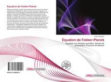 Couverture de Équation de Fokker-Planck