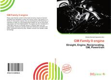 Bookcover of GM Family 0 engine