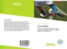 Buchcover von Liam Noble