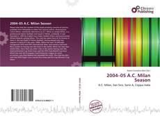 Bookcover of 2004–05 A.C. Milan Season