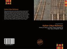 Italian Libya Railways kitap kapağı