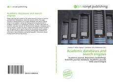 Bookcover of Academic databases and search engines