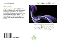 Bookcover of Ed Zaunbrecher