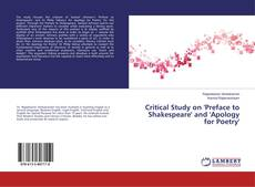 Buchcover von Critical Study on 'Preface to Shakespeare' and 'Apology for Poetry'